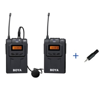 Boya BY-WM6  UHF Microphone System + 2.5mm Adapter for Fujifilm X100T