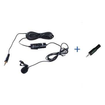 Boya BY-M1 Omni Directional Lavalier Microphone + 2.5mm Adapter for Fujifilm X100T