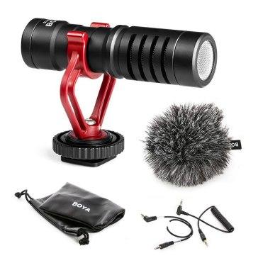 Boya BY-MM1 Shotgun Microphone for Olympus E-5