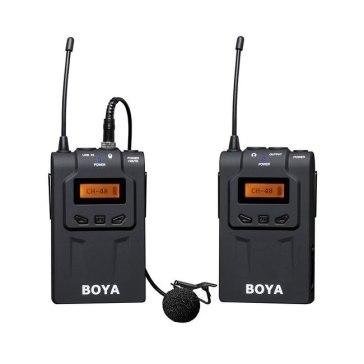Boya BY-WM6  UHF Microphone System + 2.5mm Adapter for Fujifilm FinePix HS50EXR