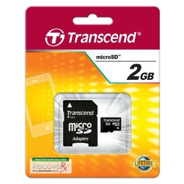 Transcend 2GB microSD Memory Card for Samsung MV900F