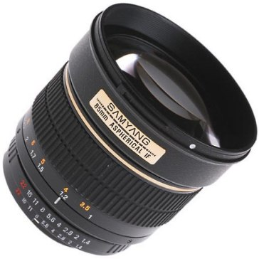 Samyang 85mm f/1.4 IF MC Aspherical Lens Samsung NX for Samsung NX10