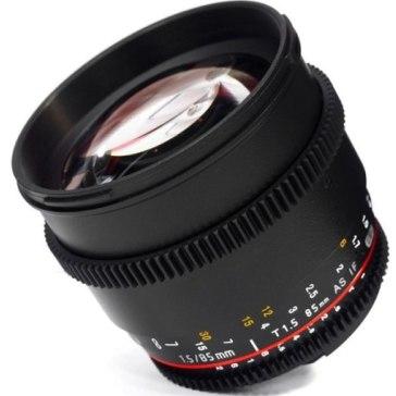 Samyang 85mm T1.5 V-DSLR AS IF UMC Lens Pentax K for Pentax K-5