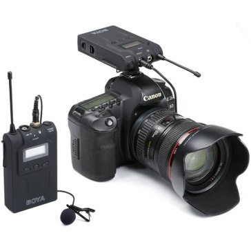 Boya BY-WM6 Wireless Microphone for Olympus E-5