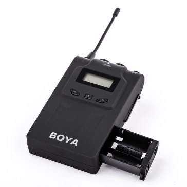 Boya BY-WM8 Duo UHF Wireless Lavalier Microphone for Olympus E-5