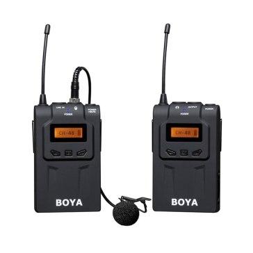 Boya BY-WM6 UHF Wireless Lavalier Microphone