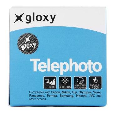 Telephoto Lens 2x for JVC GR-D23E
