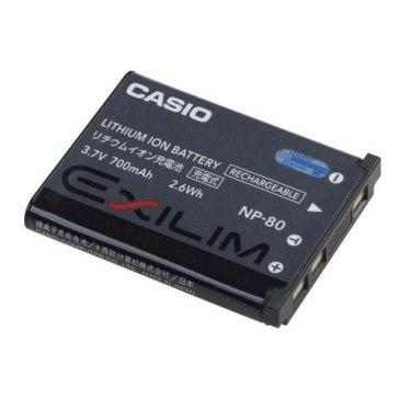 Casio NP-80 Original Battery for Casio Exilim EX-ZS5