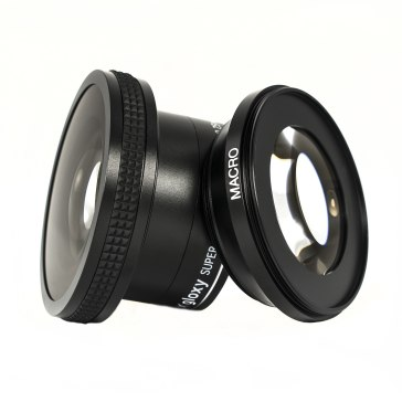 Super Fish-eye Lens and Free MACRO for Casio Exilim EX-F1