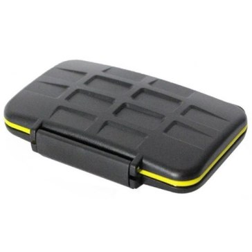 Memory Card Case for 8 SD Cards for Casio Exilim EX-Z75