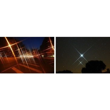 4 Pointed Star Filter for Fujifilm FinePix S7000