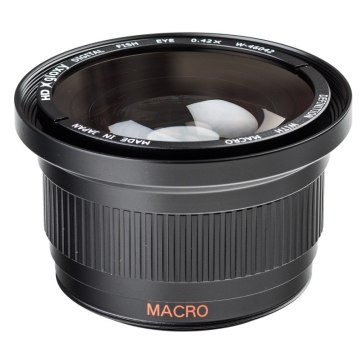 Fish-eye Lens with Macro for Fujifilm FinePix S5500