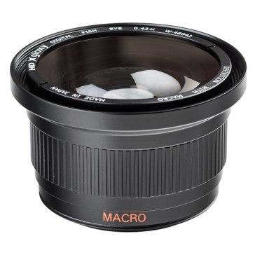 Fish-eye Lens with Macro for Pentax K-m