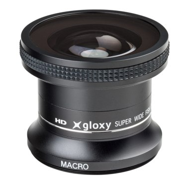Gloxy 0.25x Fish-Eye Lens + Macro for Fujifilm FinePix S5 Pro