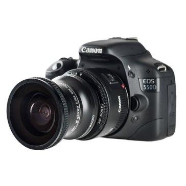 Gloxy 0.25x Fish-Eye Lens + Macro for Fujifilm FinePix S3 Pro