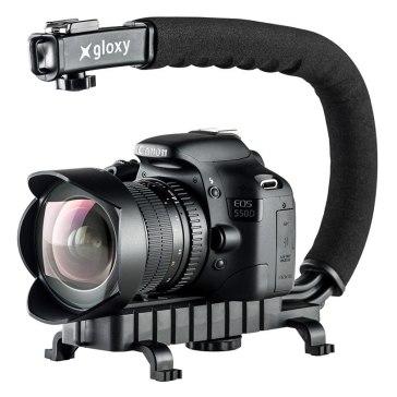 Gloxy Movie Maker Stabilizer Handle Black