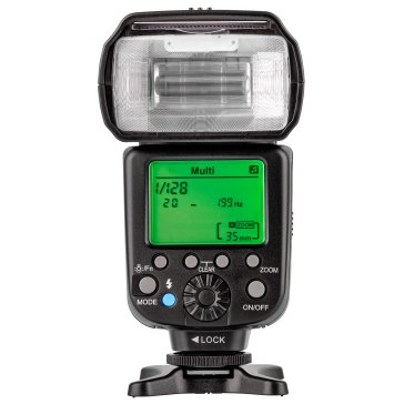 Gloxy GX-F1000 i-TTL HSS Wireless Master and Slave Flash for Nikon for Nikon D60