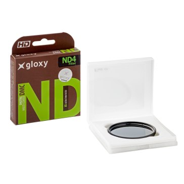 Gloxy Three Filter Kit ND4, UV, CPL 58mm for Fujifilm FinePix S8400W