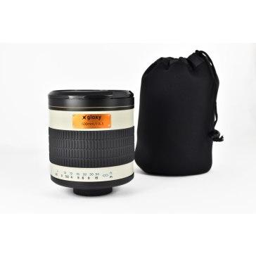 Gloxy 500mm f/6.3 Mirror Telephoto Lens For Nikon for Fujifilm FinePix S3 Pro