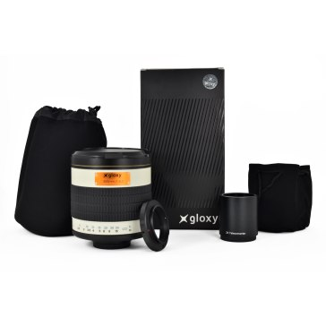 Gloxy 500-1000mm f/6.3 Mirror Telephoto Lens for Nikon