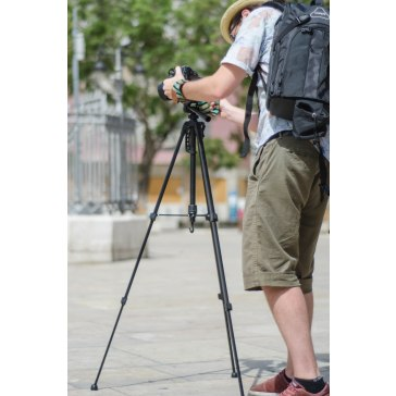 Gloxy GX-TS270 Deluxe Tripod for Casio Exilim EX-ZR200