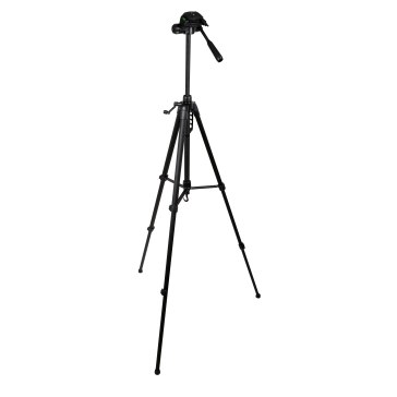 Gloxy Deluxe Tripod with 3W Head for JVC GR-DVL155