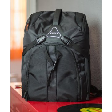 Camera backpack for Olympus E-410