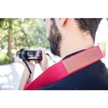 Spark Camera Strap Red