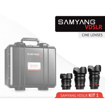 Samyang Cine Lens Kit 14mm + 35mm + 85mm for Fujifilm FinePix S5 Pro