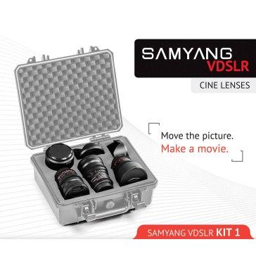 Samyang Cine Lens Kit 14mm + 35mm + 85mm for Fujifilm FinePix S3 Pro