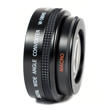 Wide Angle and Macro lens for Fujifilm FinePix S3 Pro