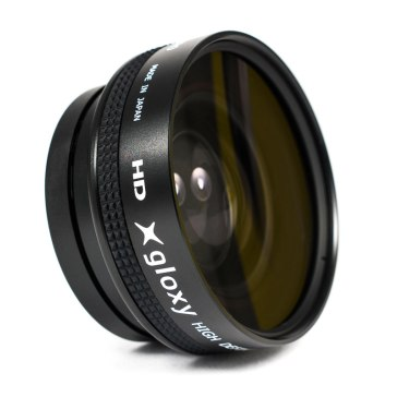Gloxy 58mm Wide Angle Macro Lens Black 0.45X