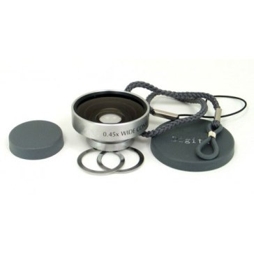 Wide Angle Magnetic Conversion Lens for Casio Exilim EX-ZS6