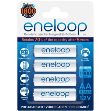 Panasonic Eneloop AA 1x4 Batteries for Fujifilm FinePix A150