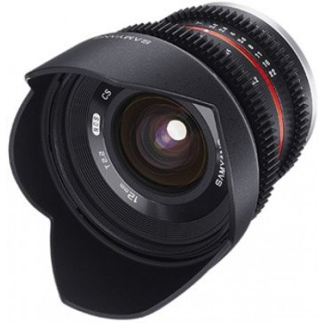 Objetivo Samyang VDSLR 12mm T2.2 NCS CS Samsung NX for Samsung NX5