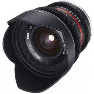 Samyang VDSLR 12 mm T2.2 NCS CS Lens Fuji X for Fujifilm X-A2