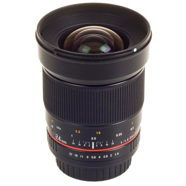 Samyang 24mm f/1.4 ED AS IF UMC Wide Angle Lens Pentax for Pentax *ist D