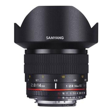 Samyang 14mm Ultra Wide-Angle f/2.8 IF ED UMC Lens Nikon AE Mount