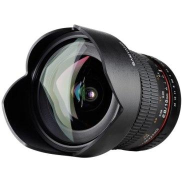 Samyang 10mm f2.8 ED AS NCS CS Lens Nikon AE for Fujifilm FinePix S3 Pro
