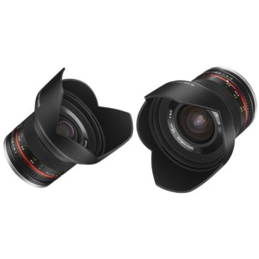 Samyang 12mm f/2.0 NCS CS Lens Fuji X Black for Fujifilm X-T10