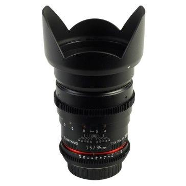 Samyang 35mm T1.5 V-DSLR AS IF UMC Lens Pentax K for Pentax K-5