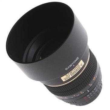 Samyang 85mm f/1.4 IF MC Aspherical Lens Olympus for Olympus E-410