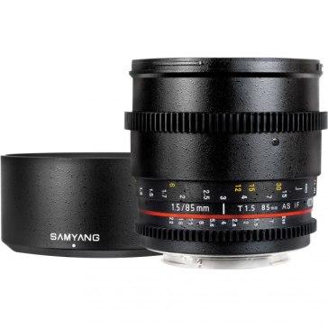 Samyang 85mm T1.5 VDSLR Lens for Samsung NX300M