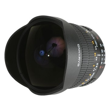 Samyang 8mm f/3.5 Fish eye Lens Olympus for Olympus E-510