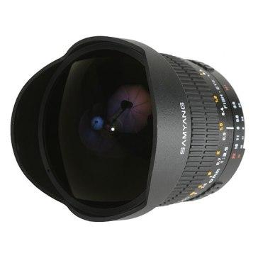 Samyang 8mm f/3.5 CSII Lens for Pentax K20D