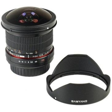 Samyang 8mm f/3.5 for Fujifilm FinePix S3 Pro