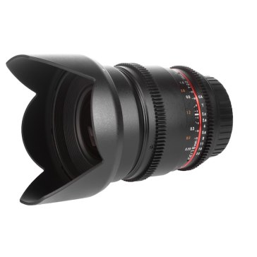 Samyang 16mm T2.2 V-DSLR ED AS UMC CS Lens Fuji X for Fujifilm X-T10