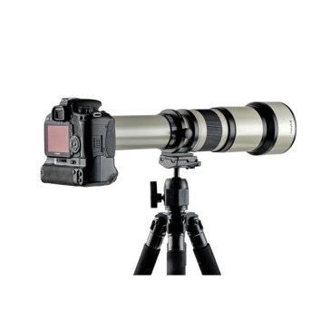 650-1300mm f/8-16 Gloxy Telephoto Lens for Nikon for Fujifilm FinePix S3 Pro