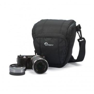 Lowepro Toploader Zoom 45 AW II Black Bag for Fujifilm FinePix S3000