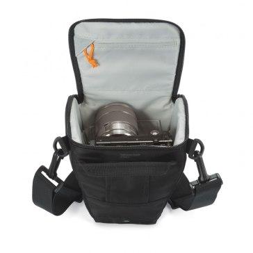 Lowepro Toploader Zoom 45 AW II Black Bag for Fujifilm FinePix HS25EXR